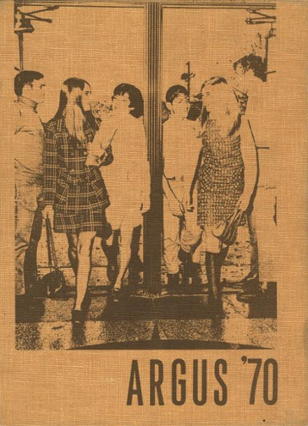 1970 East High School Yearbook Cover