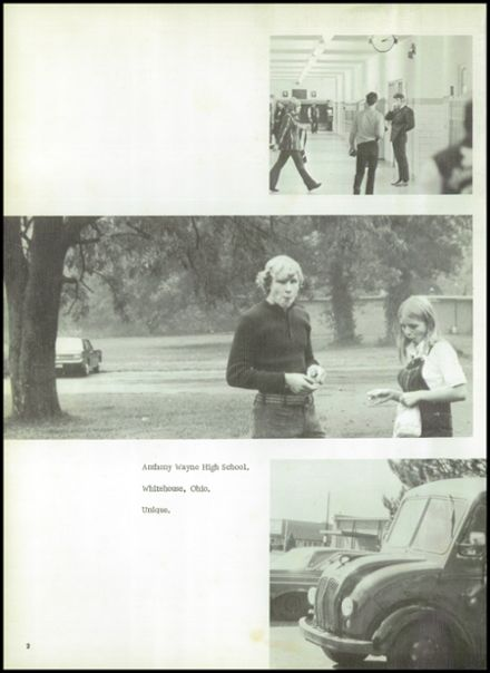 1972 Anthony Wayne High School Yearbook Page 6