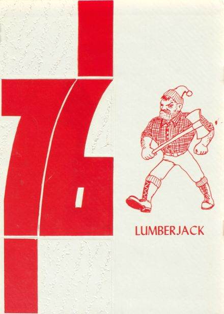 1976 Diboll High School Yearbook Cover
