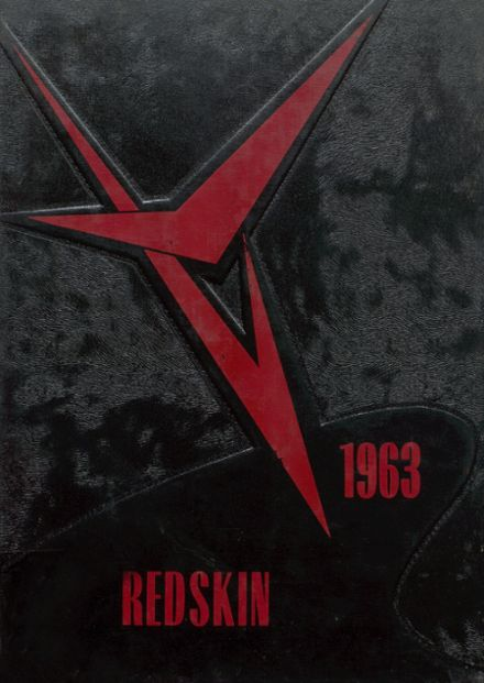 1963 Alden High School Yearbook Cover