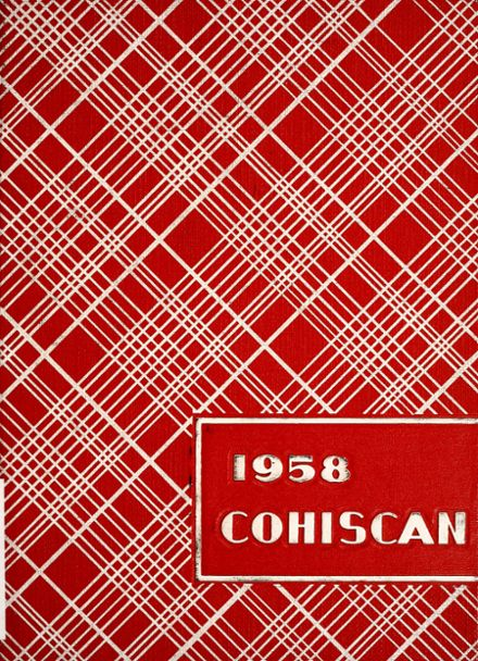 1958 Connersville High School Yearbook Cover