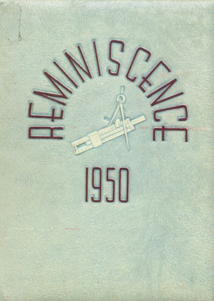 1950 Harrison High School Yearbook Cover