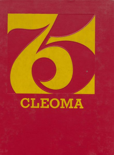 1975 Cleveland High School Yearbook Cover
