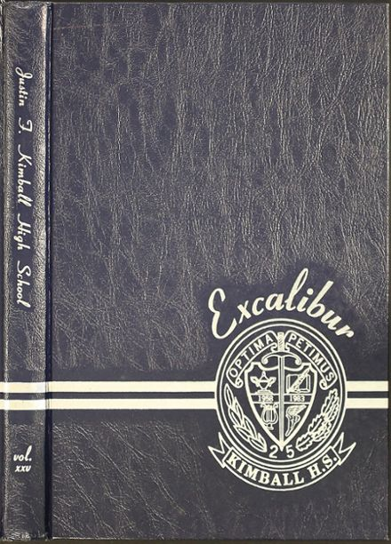 1983 Kimball High School Yearbook Cover