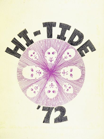 1972 Miami Beach High School Yearbook Cover