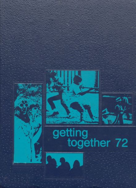 1972 White Cloud High School Yearbook Cover