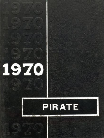 1970 Jasper High School Yearbook Cover