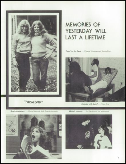1982 Solon High School Yearbook Page 9