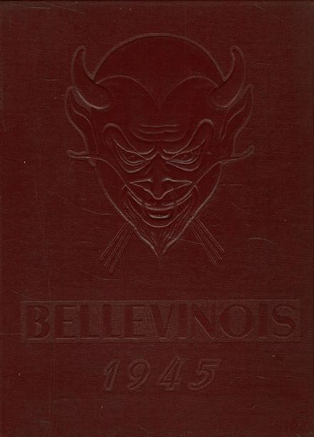 1945 Belleville Township High School Yearbook Cover