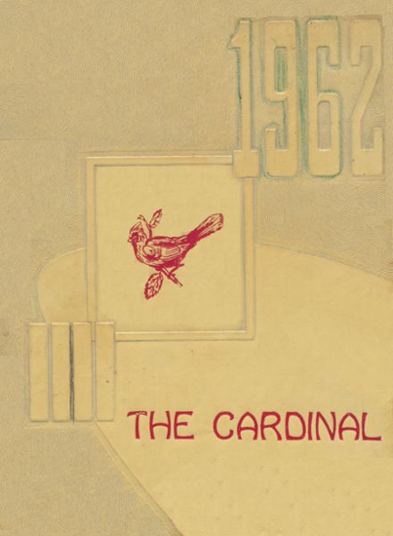 1962 Harmony Grove High School Yearbook Cover
