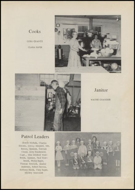 1962 Harmony Grove High School Yearbook Page 7