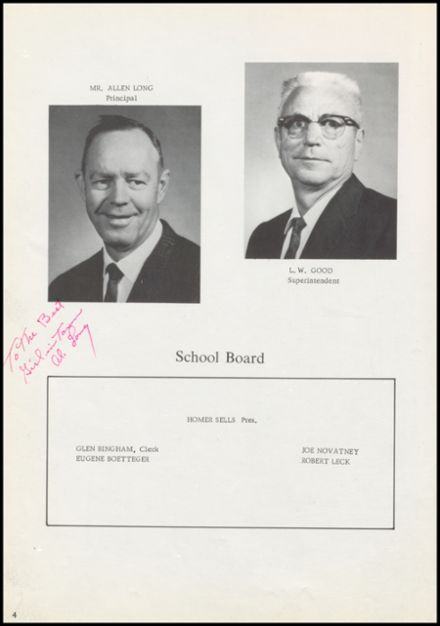 1969 Geary High School Yearbook Page 8