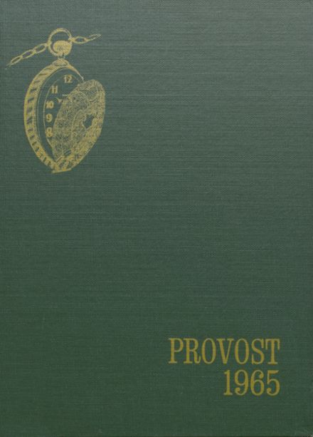 1965 Provo High School Yearbook Cover