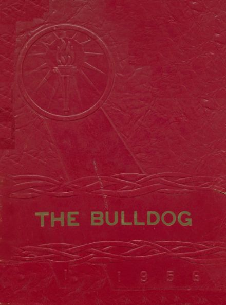 1956 Clayton High School Yearbook Cover