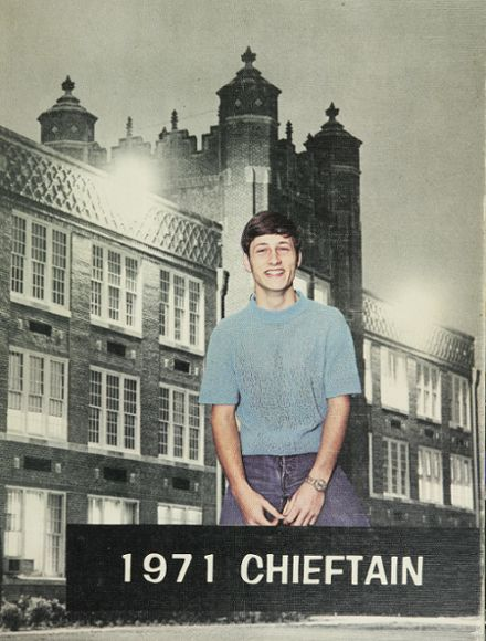 1971 Capitol Hill High School Yearbook Cover
