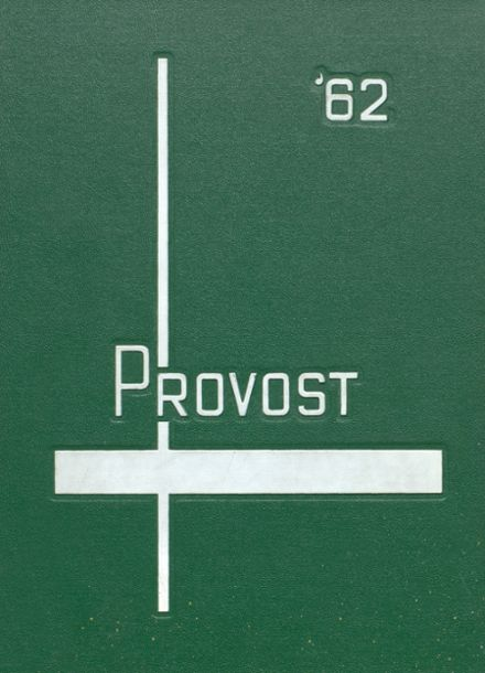 1962 Provo High School Yearbook Cover