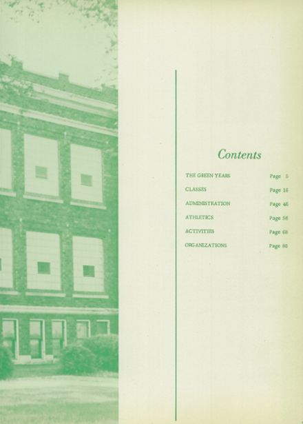 1959 Gillespie Community High School Yearbook Page 3