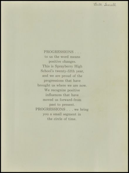 1977 Sprayberry High School Yearbook Page 3