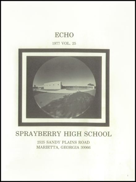 1977 Sprayberry High School Yearbook Page 5