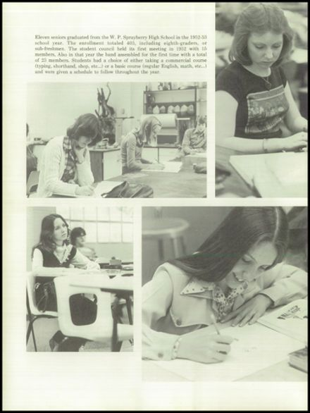 1977 Sprayberry High School Yearbook Page 8