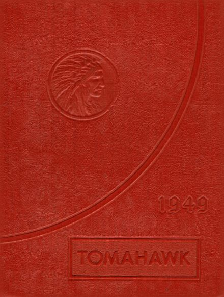 1949 Newman High School Yearbook Cover