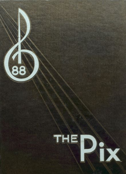 1988 Little Rock Central High School Yearbook Cover