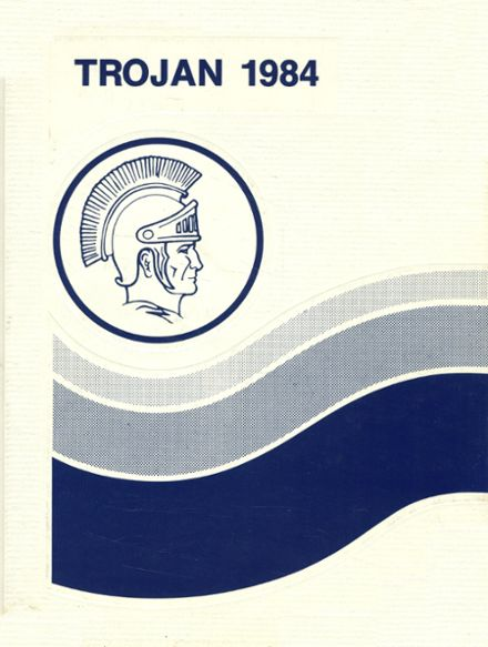 1984 Olney High School Yearbook Cover
