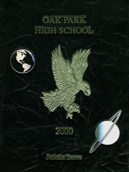 2000 Oak Park High School Yearbook Cover