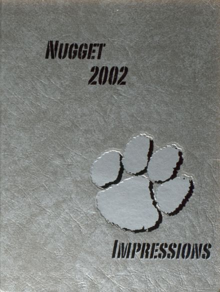 2002 Oroville High School Yearbook Cover