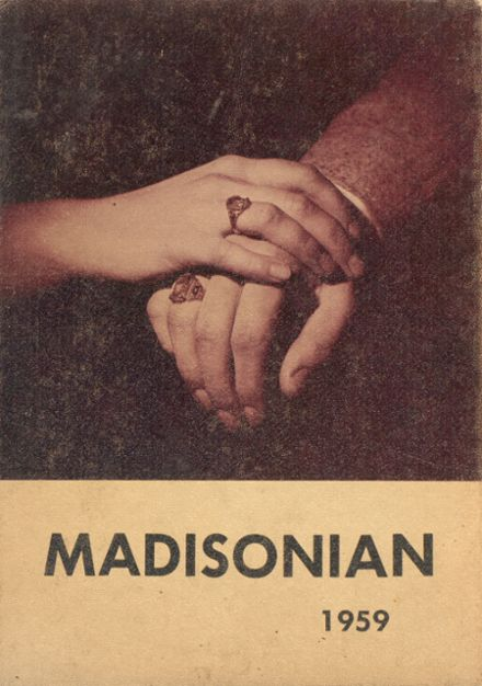 1959 Groveport Madison High School Yearbook Cover