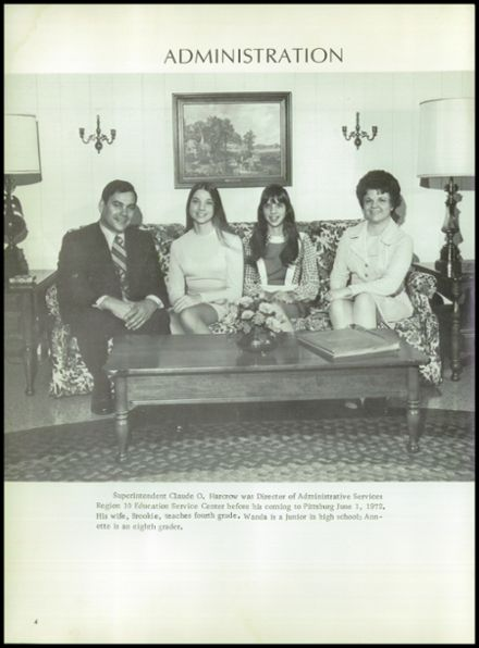1973 Pittsburg High School Yearbook Page 8