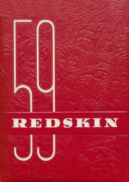 1959 Union High School Yearbook Cover