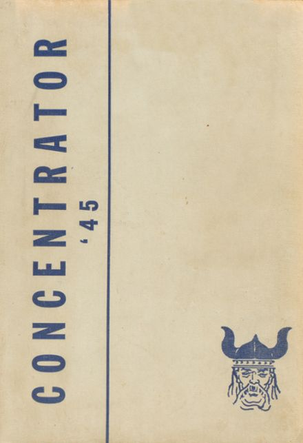 1945 Miami High School Yearbook Cover