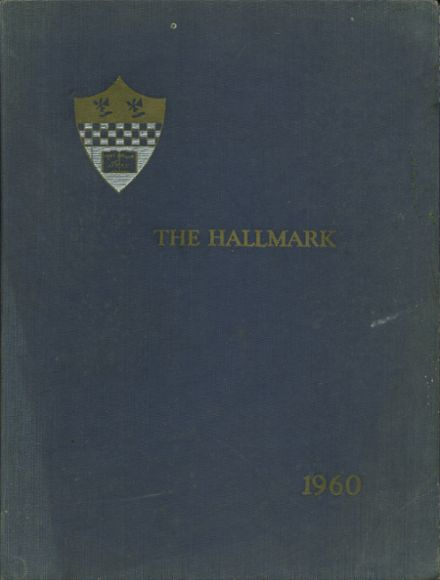 1960 Miss Halls High School Yearbook Cover