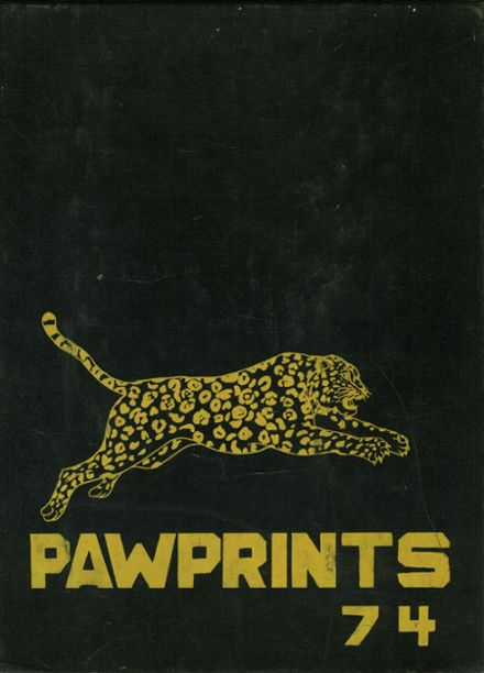 1974 Farmville Central High School Yearbook Cover