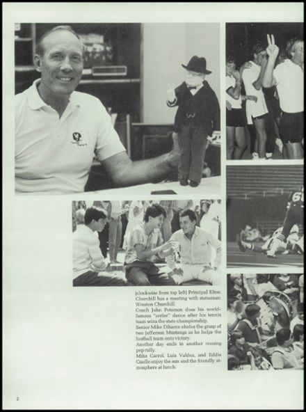1985 Churchill High School Yearbook Page 6