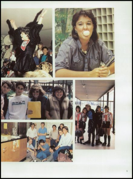 1985 Churchill High School Yearbook Page 9