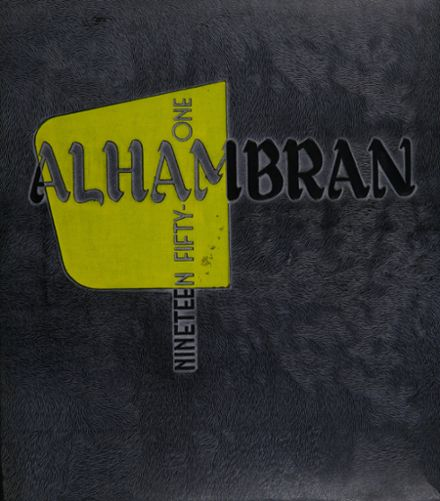 1951 Alhambra High School Yearbook Cover