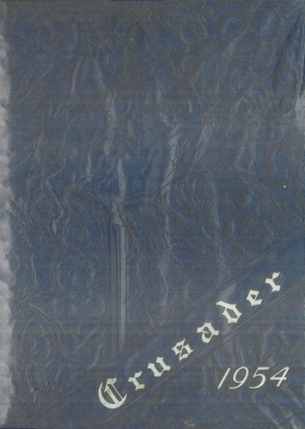 1954 St. Agnes Academy Yearbook Cover
