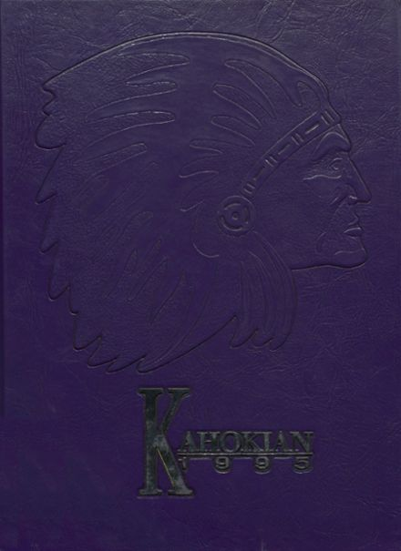 1995 Collinsville High School Yearbook Cover