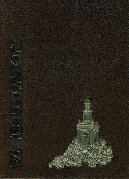 1974 Polytechnic High School Yearbook Cover