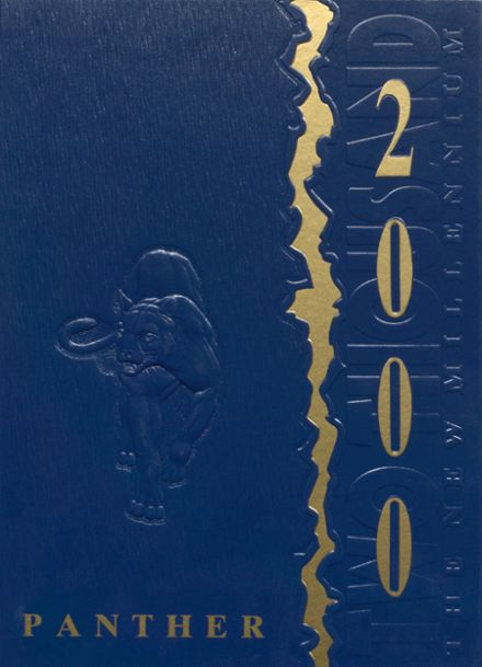 2000 Blanco High School Yearbook Cover