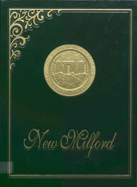 1995 New Milford High School Yearbook Cover