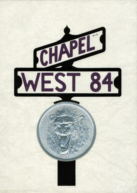 1984 Cherry Hill West High School Yearbook Cover