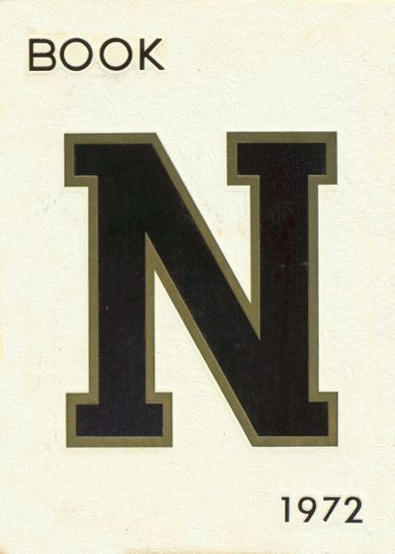 1972 Nacogdoches High School Yearbook Cover