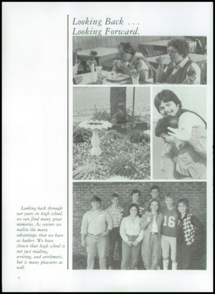 1984 Erwin High School Yearbook Page 8