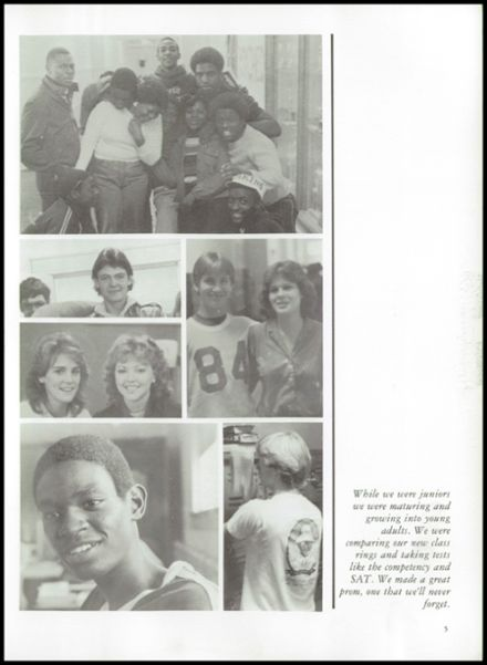 1984 Erwin High School Yearbook Page 9