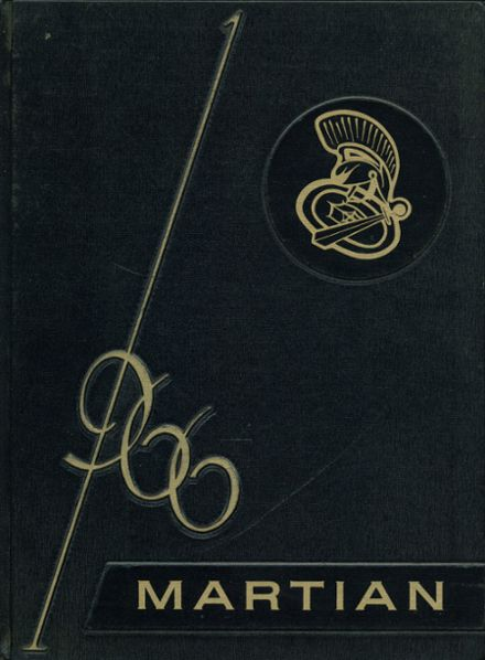 1966 Goodrich High School Yearbook Cover