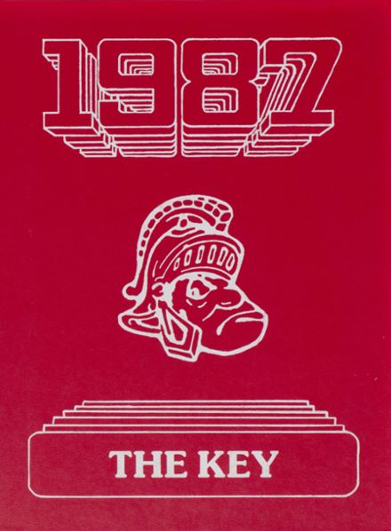1987 Pleasant High School Yearbook Cover