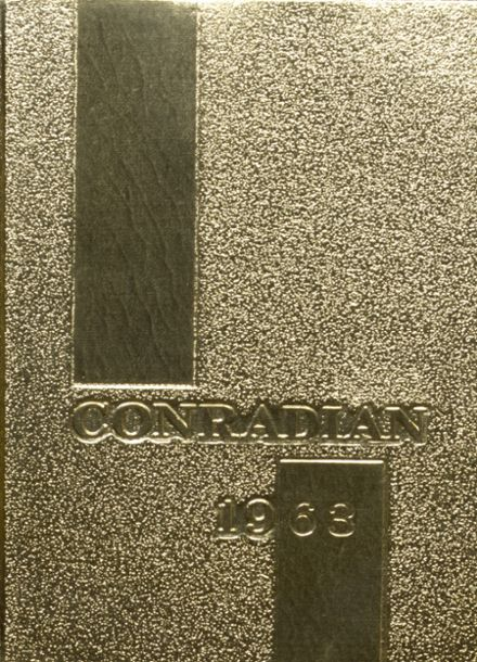 1963 Conrad High School Yearbook Cover